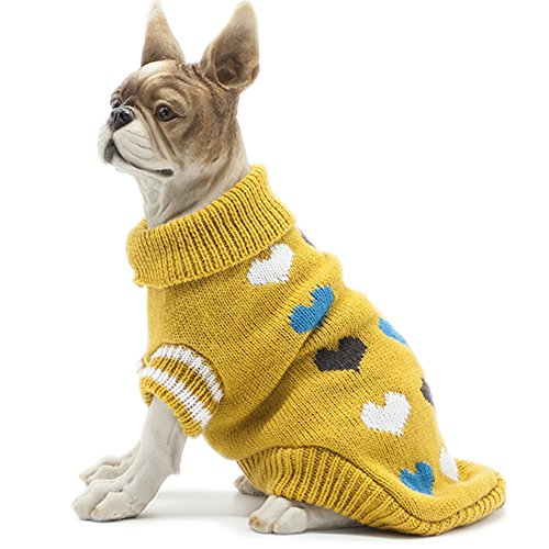 HAPEE Pet Clothes the lovely Cat Dog Sweater , Dog Accessories, Dog Apparel,Pet Sweatshirt 1