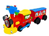 Kiddieland Toys Limited Battery-Powered Mickey Choo with Caboose & Tracks Ride On