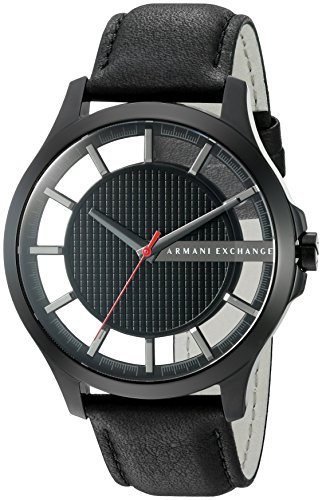 51QNHLgOhHL Features a durable mineral crystal A fashionable leather strap Analog-quartz Movement