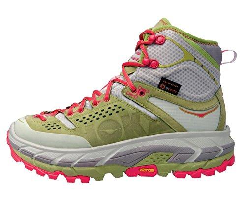 HOKA ONE ONE Tor Ultra Hi WP Running Shoe - Women's Fog Green/Olive 7.5