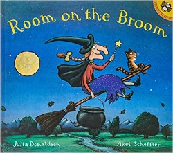 Not So Scary Halloween Books for Kids - Room on the Broom