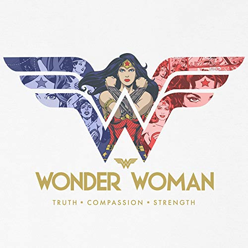 Kidsville Wonder Woman Printed White Tshirt for Girls TODAY OFFER ON AMAZON