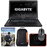 "Gigabyte P37Xv6-PC4K4D (i7-6700HQ, 16GB RAM, 512GB NVMe SSD + 1TB HDD, NVIDIA GTX 1070 8GB, 17.3"" 4K UHD, Windows 10) VR Ready Gaming Notebook"