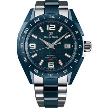 Grand Seiko Sport Ceramic GMT Blue Dial Watch
