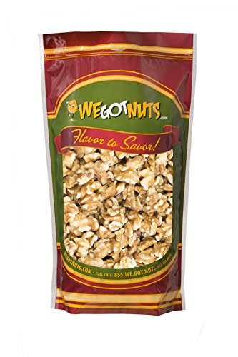 Two Pounds Of Fresh Raw Walnuts (no shell) - We Got Nuts