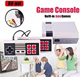 Retro Classic Video Game Console TV for Family Entertainment System Build in 500 Games