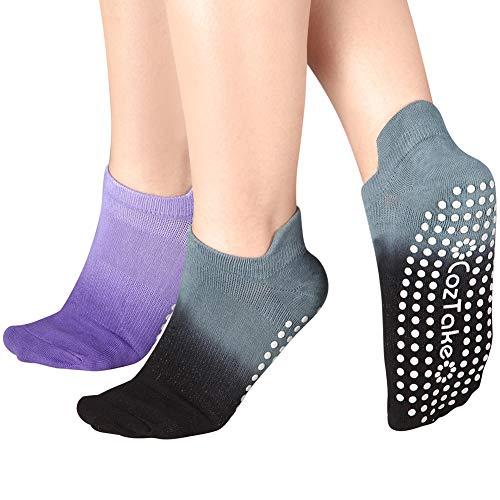 Yoga Socks Non Slip Skid Pilates Barre...