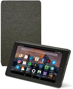 Amazon – Funda para Fire HD 8 (tablet de 8 pulgadas, 7ª y 8ª generación, modelos de 2017 y 2018), Negro