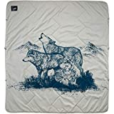Therm-a-Rest Argo Outdoor Tech Blanket, Wolf Print