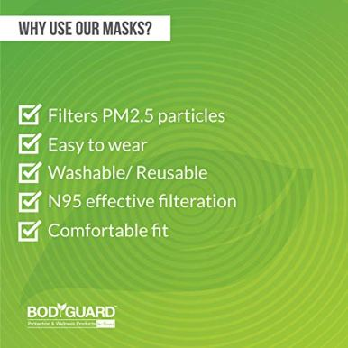 BodyGuard-Reusable-Anti-Pollution-Face-Mask-with-Activated-Carbon-N95-PM25-for-kids-Small-Black