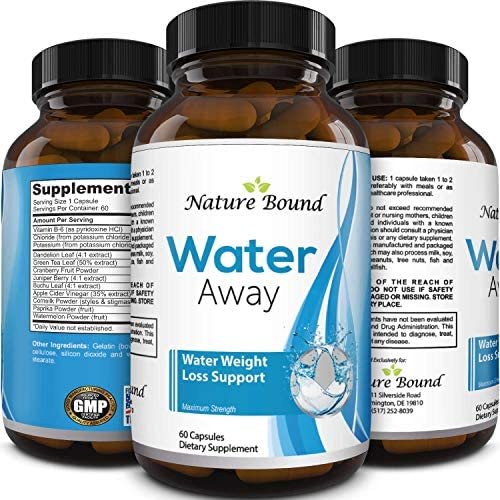Water Pills for Bloating – Premium Weight Loss Supplement for Women and Men – Reduce Water Retention – Antioxidant Green Tea and Vitamin B6 Boost Metabolism and Energy – Maximum Strength Fat Burner 3