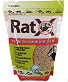 EcoClear Products RatX 620102, Humane All-Natural Non-Toxic Rat and Mouse Killer Pellets, 3 lb. Bag