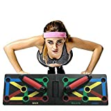 Clearance Sale!UMFun Upgrade 12 in 1 Push Up Rack Foldable Board Train Fitness Exercise Stands