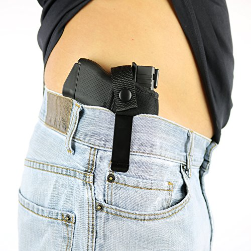 ComfortTac Concealed Carry Holster | Carry Inside The Waistband IWB or  Outside The Waistband OWB | Size 3 Fits Glock 26, 27, 30, 43, M&P Shield