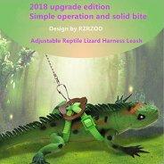 RZRZOO-Adjustable-Reptile-Lizard-Harness-Leash-Multi-Color-Light-Soft-Fashion-Pet-Small-AnimalRandom-Color