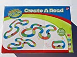 Bend A Path 13-ft.Track-Create A Road by MoBetta 270 Pieces with Light Up SUV's