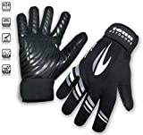 Tenn Unisex Cold Weather Cycling Gloves - Black - Sml (Womens: L)