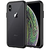 JETech Case for Apple iPhone Xs and iPhone X, Shock-Absorption Bumper Cover, Black