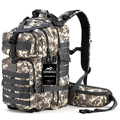 RUPUMPACK Military Tactical Backpack Hydration...