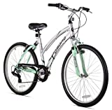 Kent Pomona Women's Dual Suspension Comfort Bike, 26-Inch