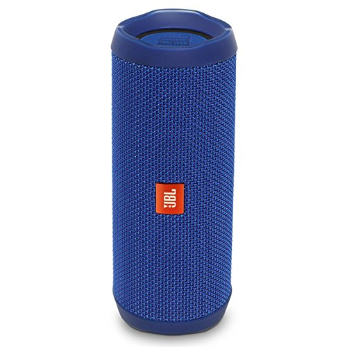 JBL Flip 4 Waterproof Portable Bluetooth Speaker (Blue)