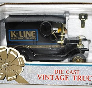 K-line Electric Trains vintage die cast delivery truck bank chrome trim New BOXD 51QtwA5gCJL