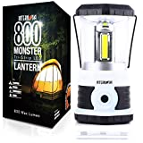 Internova Monster LED Camping Lantern - Battery Powered - Massive Brightness - Perfect for Hurricane - Camp - Emergency Kit (White 800 Lumen)