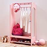 Product review for Teamson Kids -Windsor Wooden Dress Up Center with 4 Hooks & 1 Mirror