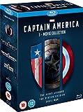 Captain America 3 Movie Collection [Blu-ray] [Region Free]