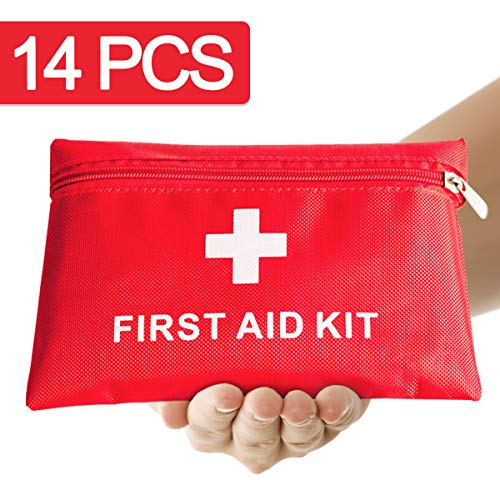 Th-some JAANY Botiquín de Primeros Auxilios de artículos, Survival Tools Mini Box Kit Bolsa Médica para Emergencias para el Coche, Hogar, Camping, Caza, Viajes, Aire Libre o Deportes 5