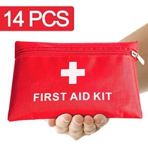 Th-some JAANY Botiquín de Primeros Auxilios de artículos, Survival Tools Mini Box Kit Bolsa Médica para Emergencias para el Coche, Hogar, Camping, Caza, Viajes, Aire Libre o Deportes 6