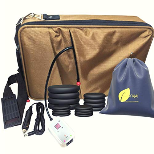 Portable Massage Stone Heater Kit 16 Stones E-Book