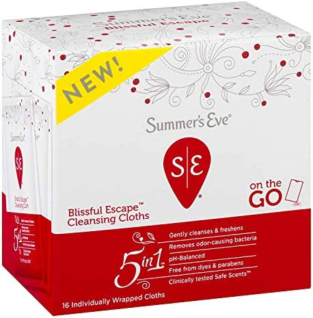 Summer's Eve Cleansing Cloths, Blissful Escape, 16 Count 5