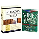 Strong's & Vine's Word Study Pack, 2 Volumes