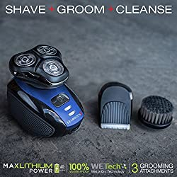 Remington XR1400 Verso Wet & Dry Men's Shaver & Trimmer Grooming Kit, Men's Electric Razor, Facial Cleaning Brush, Beard Trimmer  Image 1