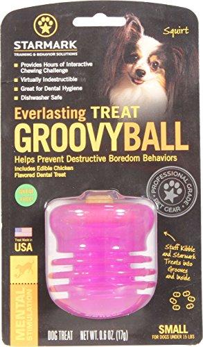 StarMark Everlasting Groovy Ball Dog Toy 1