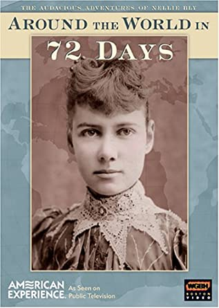 Image result for Nellie Bly completes her round-the-world journey in 72 days