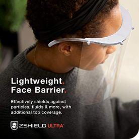 ZShield-Ultra-Reusable-Face-Shield-wFull-Face-Clear-Lens-Forehead-Mounted-Design-Wear-with-Glasses-Ear-to-Ear-Coverage-Made-in-USA-5-Pack