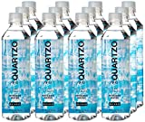 QUARTZO: Naturally Alkaline Artesian Water pH 9.5 | Bottled at the Source | No Additives | BPA- Free 16.9 fl oz (12-Pack)