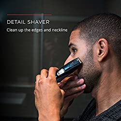 Remington PG525 Head to Toe Lithium Powered Body Groomer Kit, Beard Trimmer (10 Pieces)  Image 4