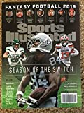 Sports Illustrated Fantasy Football 2019 Draft Guide Magazine ++ FREE GIFT++ Seaon of the Switch