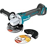 Makita XAG03Z 18V LXT Lithium-Ion Brushless Cordless Cut-Off/Angle Grinder, 4-1/2-Inch (Discontinued by Manufacturer)