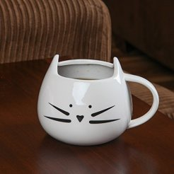 Home-X-Ceramic-Cat-Coffee-and-Tea-Mug-The-Perfectly-Fun-Kitchenware-Gift-for-All-Cat-Lovers-for-Any-Occasion-at-Any-Meal-White
