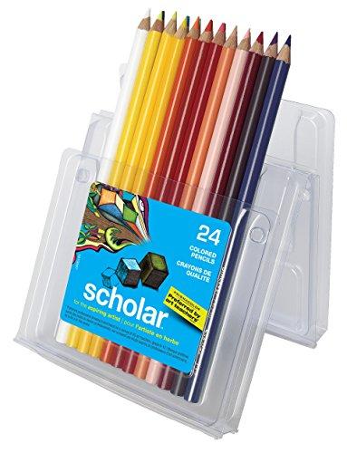 Prismacolor Scholar Pencil Set, Assorted Colors, Set of 24