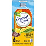 Crystal Light Lemon Iced Tea Drink Mix (60 Packets, 6 Boxes of 10)