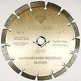 ALSKAR DIAMOND ADLSS 7 inch Dry or Wet Cutting General Purpose Power Saw Segmented Diamond Blades for Concrete Stone Brick Masonry (7')
