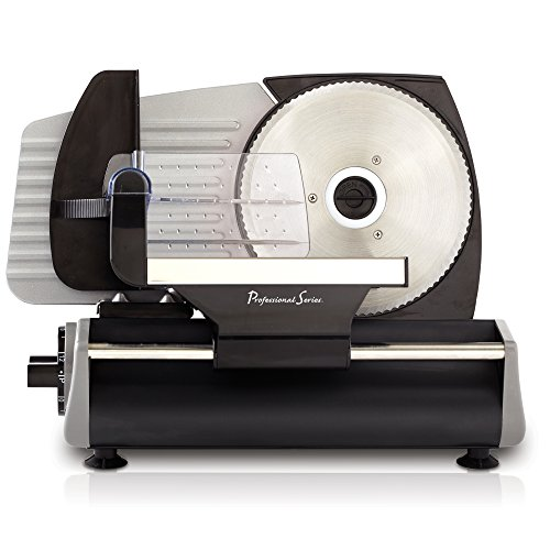 Continental Electric PS77711 Meat Slicer, One Size, Stainless Steel