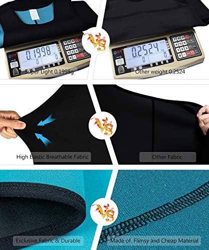 Men Neoprene Waist Trainer Sauna Sweat Suit Workout Vest Tank Top Tummy Control Shapewear Slimming Body Shaper 4