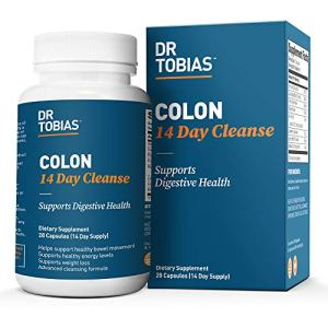 Dr. Tobias Colon 14 Day Cleanse, Supports Healthy Bowel Movements, 28 Capsules (1-2 Daily) 9