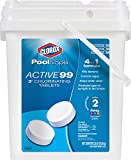 Clorox Pool&Spa Active99 3' Chlorinating Tablets 35 lb